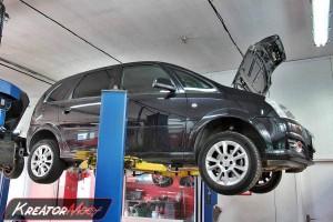 Filtr cząstek stałych Opel Meriva 1.3 CDTI 75 KM