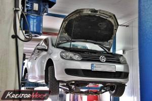 Filtr cząstek stałych DPF VW Golf VI 1.6 TDI 105 KM