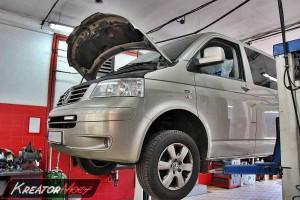 Filtr cząstek stałych Volkswagen T5 2.5 TDI 175 KM