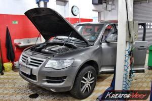 Filtr cząstek stałych VW Touareg 3.0 TDI 225 KM