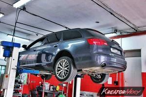 Filtr FAP Audi A6 C6 3.0 TDI 233 KM