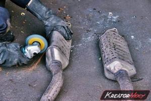 Filtr DPF Audi A8 D3 4.2 TDI 326 KM