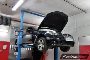 Filtr cząstek stałych BMW 5 E60 535d 3.0sd 286 KM