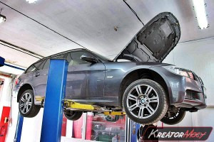 Filtr cząstek stałych BMW 3 E90 330xd 231 KM