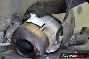Filtr cząstek stałych BMW X5 E70 3.0d 235 KM