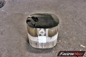 Filtr cząstek stałych BMW X6 E71 3.0sd xDrive35d 286 KM