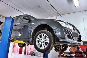 Usuwanie DPF Chevrolet Cruze 1.7D 130 KM