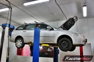 Filtr cząstek stałych Chevrolet Lacetti 2.0D 121 KM