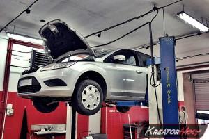 Usunięcie filtra Ford Focus MK2 1.6 TDCI 109 KM