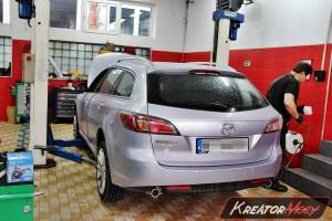 Mazda 6 2.0 CD 140 KM - filtr cząstek stałych