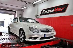 Hamownia Mercedes W209 CLK 220 CDI 150 KM