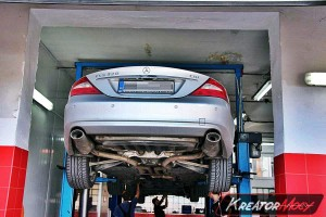 Filtr cząstek stałych Mercedes W219 CLS 320 CDI 224 KM