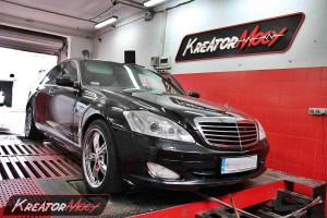 Chip tuning Mercedes S W221 320 CDI 235 KM