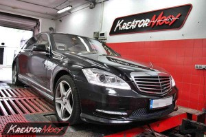 Chip tuning Mercedes W221 S 350 CDI 261 KM