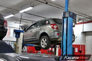 Filtr cząstek stałych Opel Antara 2.0 CDTI 150 KM