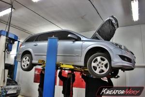 Filtr cząstek stałych Opel Astra H 1.7 CDTI 110 KM