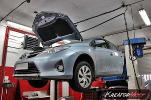 Filtr cząstek stałych Toyota Auris 1.4 D4D 90 KM