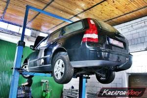 Usuwanie FAP Volvo V50 1.6D 109 KM