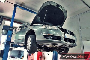 Filtr FAP VW Passat B6 2.0 TDI 170 KM