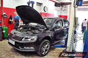 Usunięcie filtra DPF VW Passat B7 1.6 TDI 105 KM