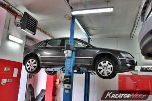 Usunięcie filtra DPF VW Phaeton 3.0 TDI 240 KM