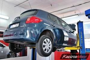 Filtr FAP Toyota Auris 1.4 D4D 90 KM