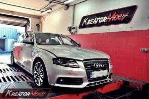 Chip tuning Audi A4 B8 Avant 2.0 TDI 120 KM