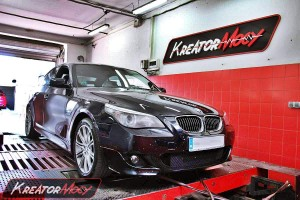Chip tuning BMW 5 E60 530d 231 KM xDrive