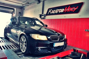 Chip tuning BMW 3 E91 330d 245 KM