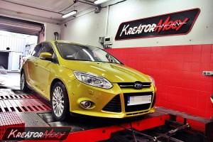 Brak mocy Ford Focus III 1.6 EcoBoost 150 KM