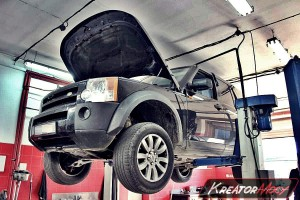 Filtr FAP Land Rover Discovery3 2.7 TDV6 190 KM