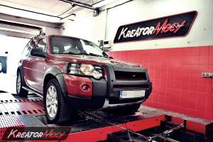 Chip tuning Land Rover Freelander 2.0 TD4 112 KM