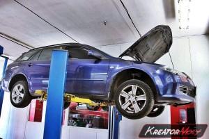Filtr cząstek stałych Mazda 6 2.0 CD 121 KM
