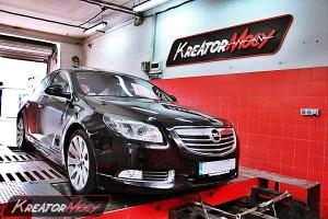 Chip tuning Opel Insignia 2.8T V6 260 KM