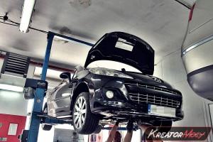 Usuwanie FAP Peugeot 207 CC 1.6 HDI 109 KM
