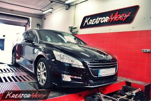 Chip tuning Peugeot 508 SW 2.0 HDI 163 KM
