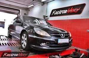 chip tuning peugeot 607 2 2 hdi 170 km kreator mocy. Black Bedroom Furniture Sets. Home Design Ideas