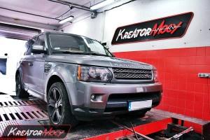 Chip tuning Range Rover Sport 3.0 SDV6 255 KM