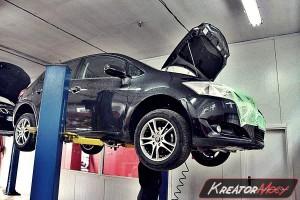 Problem filtr cząstek stałych Toyota Auris 1.4 D4D 90 KM
