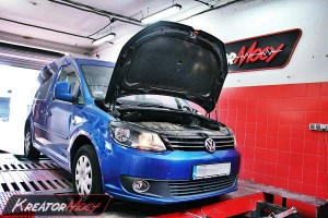 Chip tuning VW Caddy II 1.6 TDI 75 KM