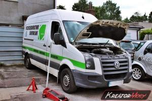 Usuwanie DPF VW Crafter 2.5 TDI 136 KM