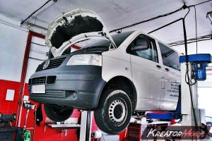 Usuwanie DPF Volkswagen T5 2.5 TDI 131 KM