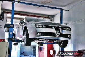 Filtr cząstek stałych Alfa Romeo 159 1.9 JTDM 120 KM