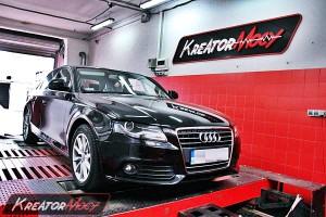 Chip tuning Audi A4 B8 2.0 TDI 143 KM