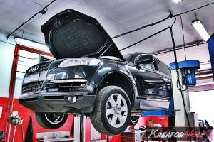 Usuwanie DPF Audi Q7 3.0 TDI 240 KM
