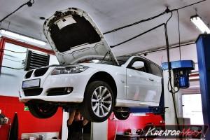 Usuwanie DPF BMW 3 E91 318d 143 KM