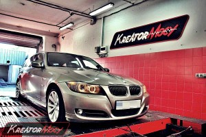 Chip tuning BMW 3 E90 330d 245 KM