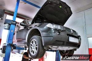 Zapchany filtr DPF BMW X3 E83 2.0d 150 KM
