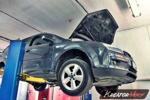 Zapchany filtr cząstek stałych Ford Focus II 2.0 TDCI 136 KM