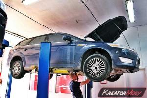 Filtr cząstek stałych Ford Mondeo MK4 2.0 TDCI 140 KM